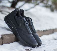 nike air max 1 ultra essential black black black footshop