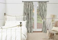 Shabby Chic Silk Bedroom Draperies Traditional By