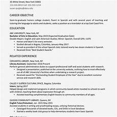 college graduate resume exle and writing tips