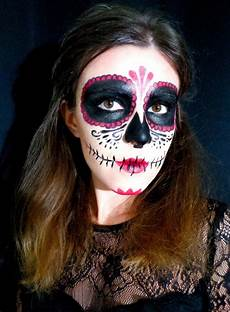 sugar skull maquillage d the mariette