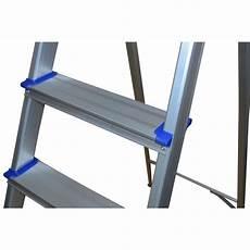 haushaltsleiter aus aluminium mit 3 stufen 30 42