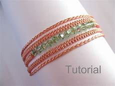 Makramee Armband Anleitung - macrame bracelet necklace pattern tutorial pdf two in one