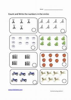 kidz worksheets preschool counting worksheet5