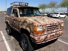 car owners manuals for sale 1984 ford bronco engine control find used 1984 bronco ii 2 manual 4x4 lifted one of a kind survivalist vehicle in gilbert