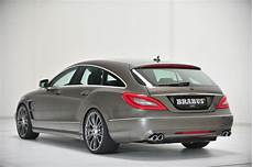 cls shooting brake mercedes cls shooting brake tuned by brabus autoevolution