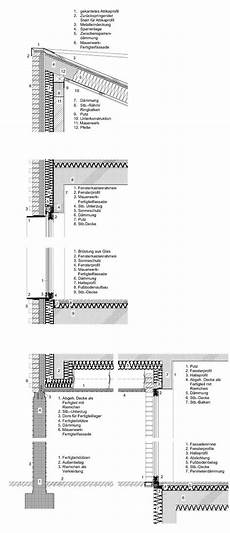 projekt fassadenschnitt fassadenschnitt layout