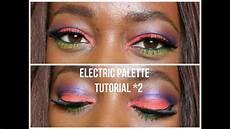 tuto maquillage orange d ete palette electric decay
