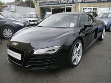 used audi r8 2007 black paint petrol 4 2 fsi quattro 2dr