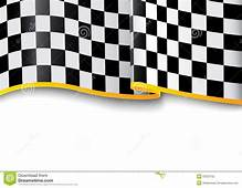 Race Background Checkered Black And White Stock