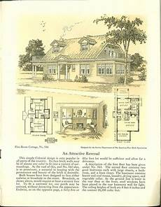 small brick house plans five room face brick bungalow and small house p 1926
