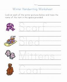 winter pre writing worksheets 20124 winter handwriting worksheet