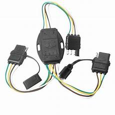 4 wire plug flat y splitter connector trailer adapter wiring harness 32 inch 651721136419 ebay