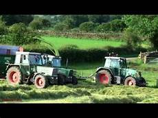 claas jaguar 75 trailed silage with fendt and claas jaguar 75