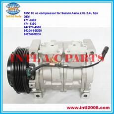 auto air conditioning repair 2006 suzuki aerio user handbook 10s13c pv5 ac compressor for suzuki aerio 2 0l 2 3l 2002 2007 2003 2004 2005 2006 oem 95200
