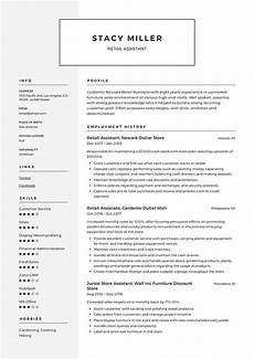 retail assistant resume template in 2020 resume writing operations management office