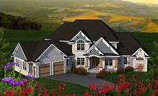 house plans angled garage 4 bed house plan with angled garage 89977ah