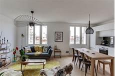 deco a vivre avec cuisine ouverte salon cuisine ouverte d esprit scandinave scandinavian