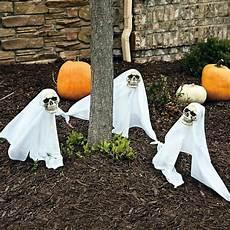 halloween party decoration in garden interior design