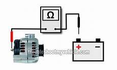 gm alternator wiring diagram 1996 part 2 how to test the alternator 1994 1997 chevy s10 2 2l