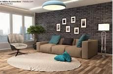 sofa in braun wohnzimmer mit erdfarben einrichten modern couch furniture design furniture