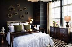 Decorations In Bedroom by Bedroom Decorating With Black Wallpaper 2 Modern Wall