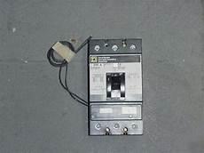 square d kal36200 w shunt trip circuit breaker
