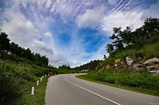 Gambar Pemandangan Pohon Alam Rumput Horison Gunung