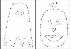 14 best images of halloween tracing worksheets halloween