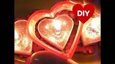 candele a cuore diy san valentino candele a forma di cuore candles