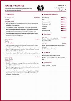 teacher resume format and resume exle for school teachers my resume format free resume