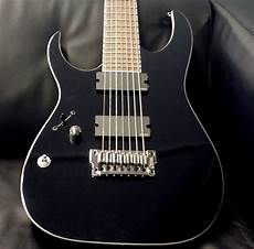 left handed 7 strings left handed ibanez iron label rgir27 fel 7 string reverb