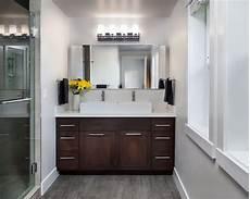 Bathroom Ideas Brown Vanity by White Master Bathroom With Brown Vanity Hgtv