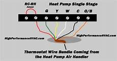heat pump thermostat wiring chart diagram honeywell nest ecobee