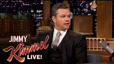 matt damon jimmy kimmel matt damon insults jimmy kimmel on the tonight show