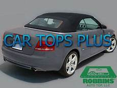 2003 09 audi a4 s4 rs4 convertible top with heated glass window quot robbins brand quot ebay