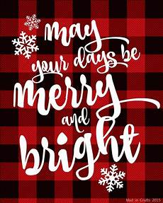 sparkly plaid christmas printables mad in crafts