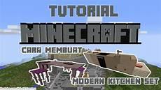 Minecraft Kitchen Set by Cara Membuat Modern Kitchen Set Minecraft Dengan Command Block