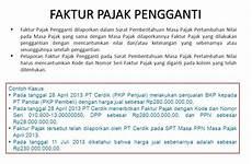 contoh surat faktur pajak batal modif b
