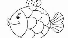 Mewarnai Gambar Ikan Untuk Anak Paud Frameimage Org