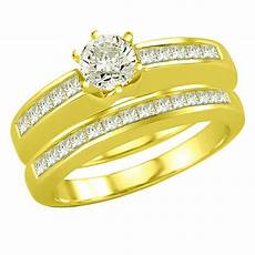 1 30tcw f vvs1 engagement wedding rings in 18k gold