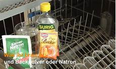 Sp 252 Lmaschine Reinigen Entkalken Mit Den Hausmitteln