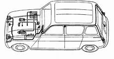 schema electrique voiture renault sch 233 233 lectrique des renault 4 motor