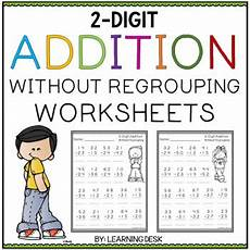 addition without regrouping for grade 1 2 digit addition without regrouping worksheets by learning