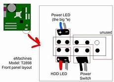solved how do i hook up the power switch button fixya