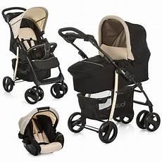 hauck kinderwagen 3in1 set shopper slx beige babyschale
