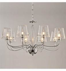 grand lustre baroque 8 verres transparents