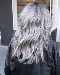 icy silver hair transformation is one of the 2020 s