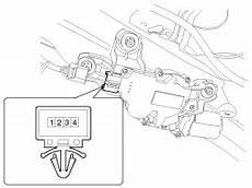 controle technique essuie glace arrière kia ceed moteur de l essuie glace arri 232 re proc 233 dures