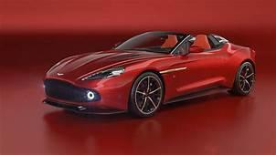 2018 Aston Martin Vanquish Zagato Speedster Pictures