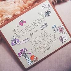Diy Gutschein Crafting Doodle Breakfast Quot Ich Bin
